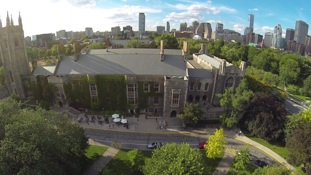 Hart House - Aerial View